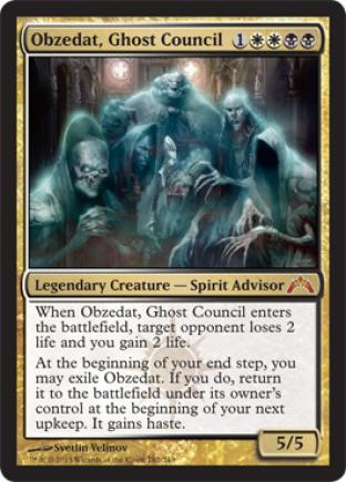 Obzedat, Ghost Council (2)