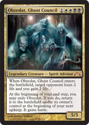 Obzedat, Ghost Council (2)