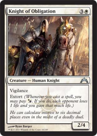 Knight of Obligation (2)