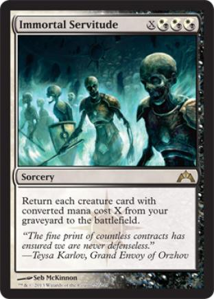 Immortal Servitude (2)