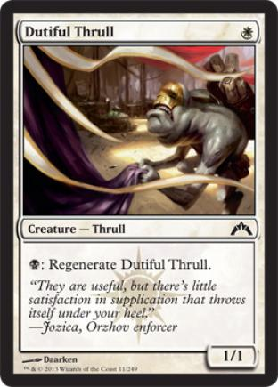 Dutiful Thrull (2)