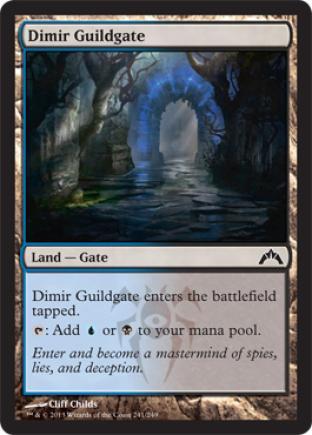 Dimir Guildgate (2)