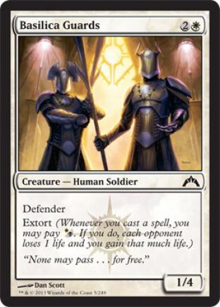 Basilica Guards (2)