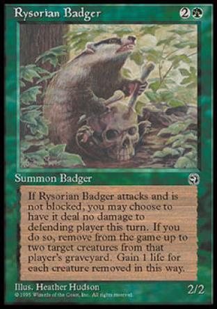 Rysorian Badger