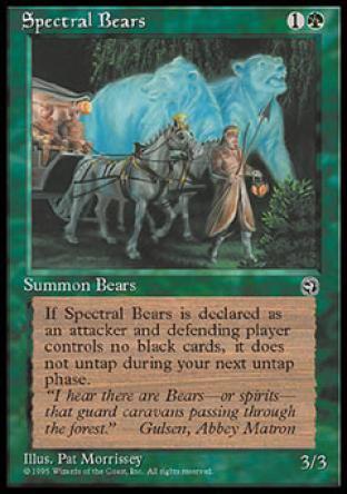 Spectral Bears