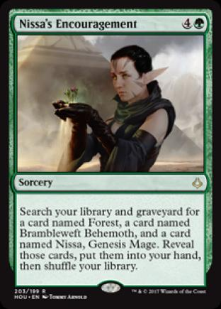 Nissa's Encouragement