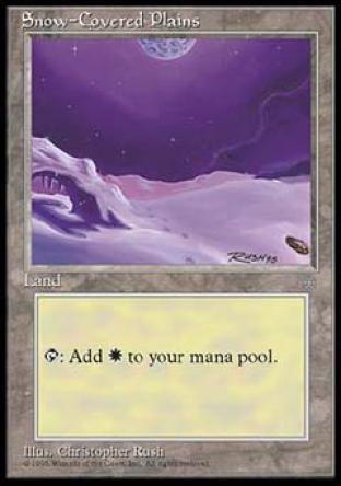 Snow-Covered Plains