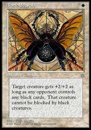Black Scarab