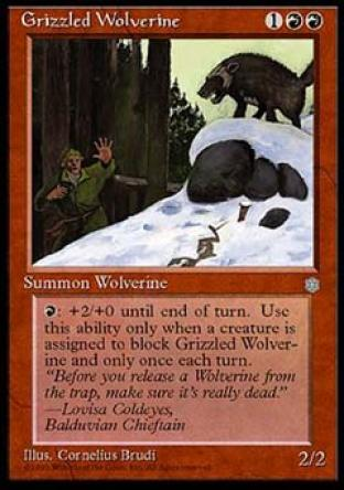 Grizzled Wolverine