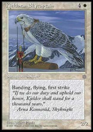 Kjeldoran Skycaptain