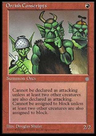 Orcish Conscripts