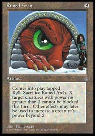 Runed Arch