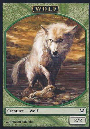 Green Wolf (Token)