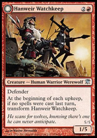 Hanweir Watchkeep (Bane of Hanweir)