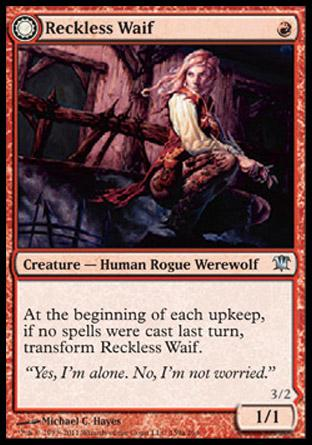Reckless Waif (Merciless Predator)