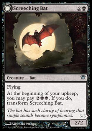 Screeching Bat (Stalking Vampire)