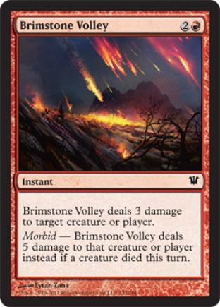 Brimstone Volley