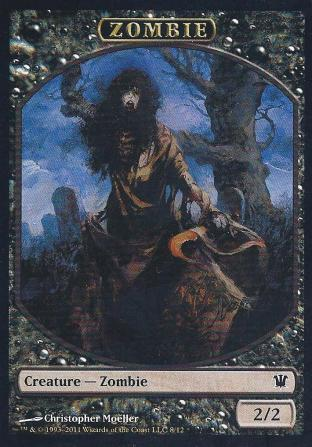 Zombie (Token by Christopher Moeller)