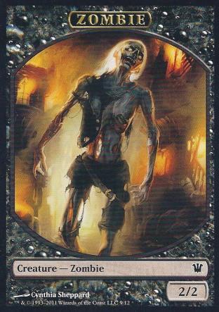 Zombie (Token by Cynthia Sheppard)