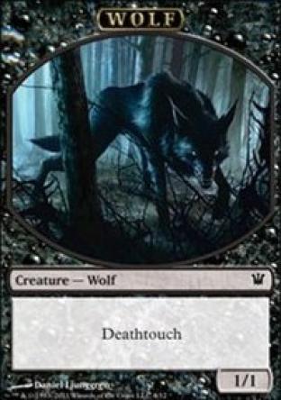 Wolf (Deathtouch) (Token)