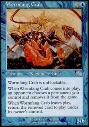 Wormfang Crab