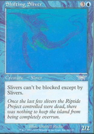 Shifting Sliver