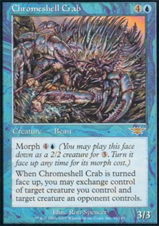 Chromeshell Crab