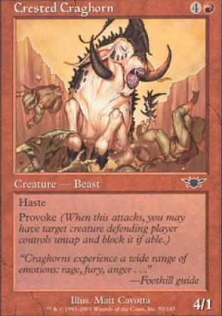 Crested Craghorn