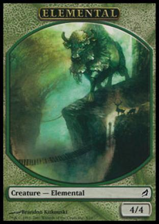 Green Elemental (Token)