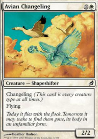 Avian Changeling