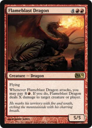 Flameblast Dragon