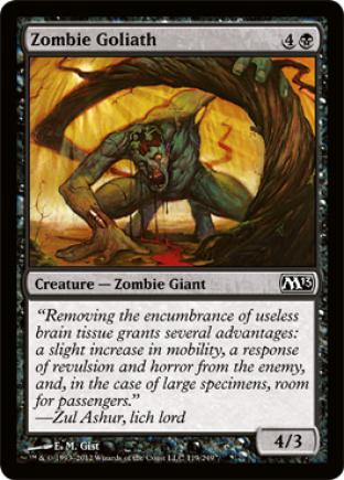 Zombie Goliath
