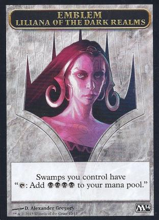 Emblem Liliana of the Dark Realms