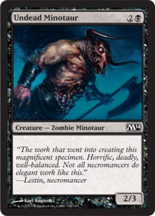 Undead Minotaur