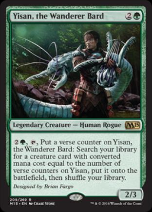 Yisan, the Wanderer Bard