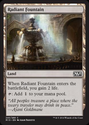 Radiant Fountain