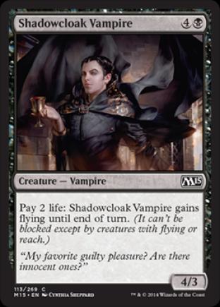Shadowcloak Vampire