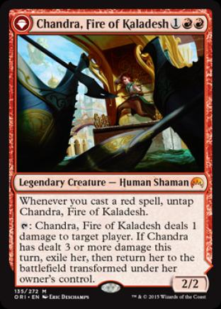 Chandra, Fire of Kaladesh (Chandra, Roaring Flame)