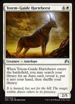 Totem-Guide Hartebeest