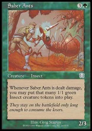 Saber Ants