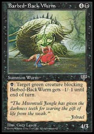Barbed-Back Wurm