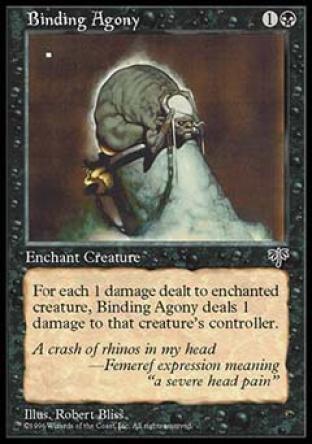 Binding Agony