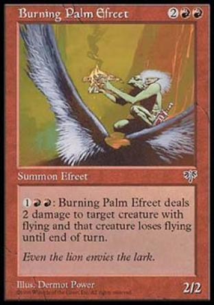 Burning Palm Efreet