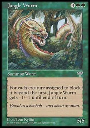 Jungle Wurm