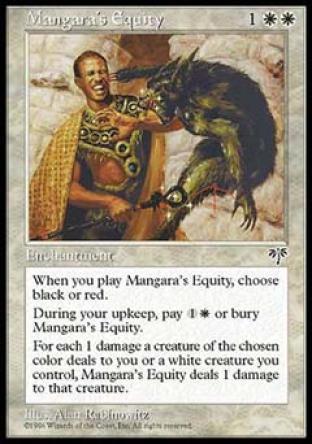 Mangara's Equity