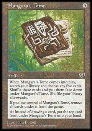 Mangara's Tome