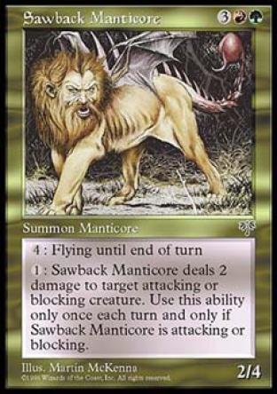 Sawback Manticore