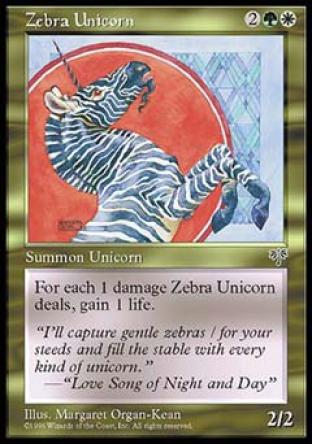 Zebra Unicorn