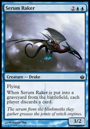 Serum Raker