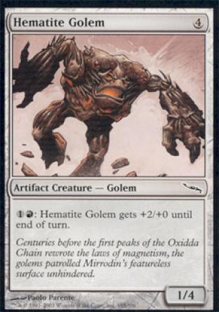 Hematite Golem